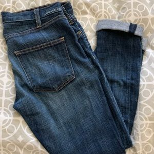 """Current/Elliot """"Roller"""" Slouchy Stretch Jeans"""
